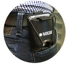 NarClip Single Dose Carry Case For Police, Fire and First Responders