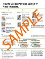 Replacement EpiPen® Auto-injector Instruction Sheet