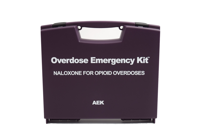 Narcan / Naloxone Overdose Emergency Kit Case