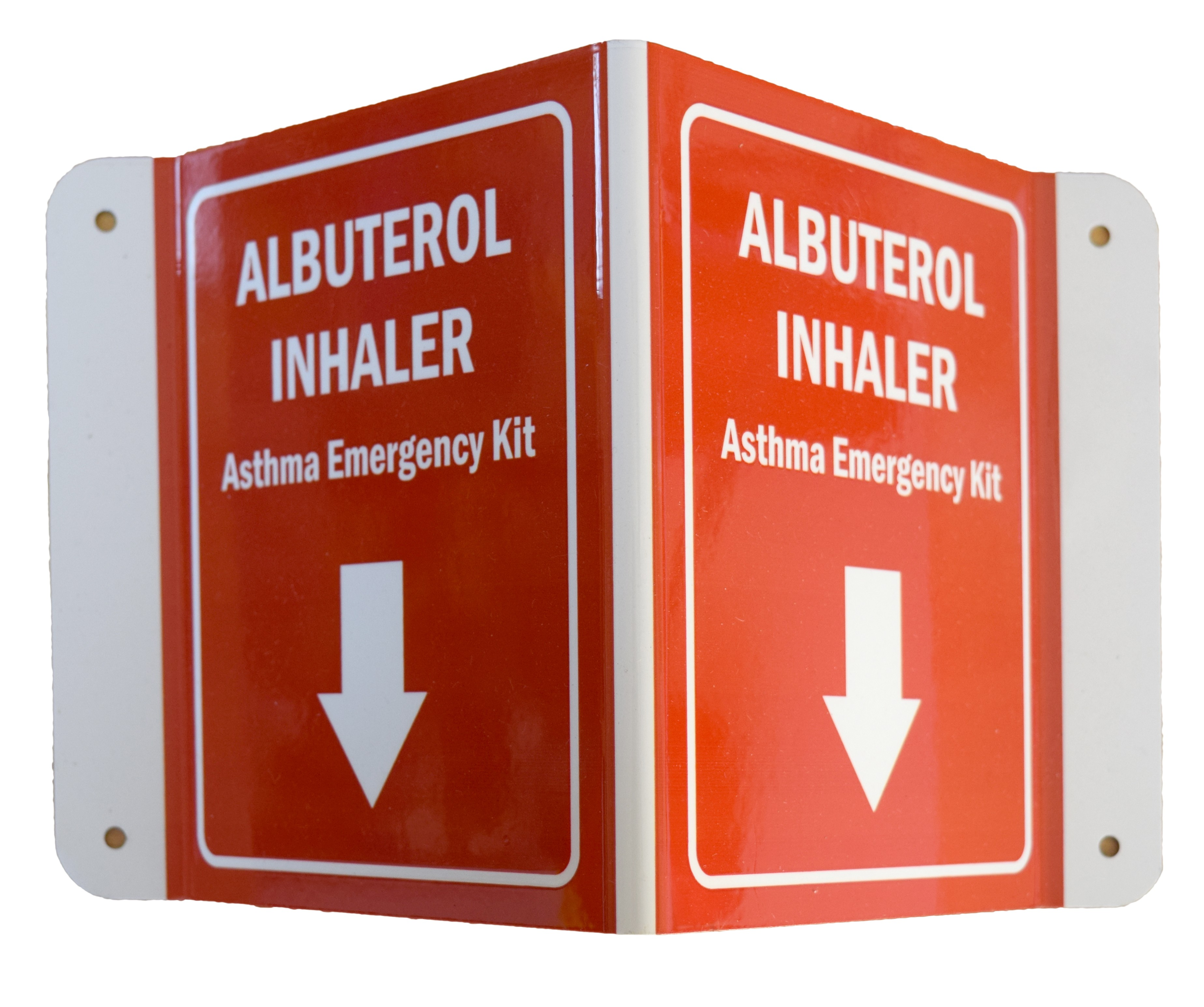 Albuterol Sign / Emergency Inhaler Sign
