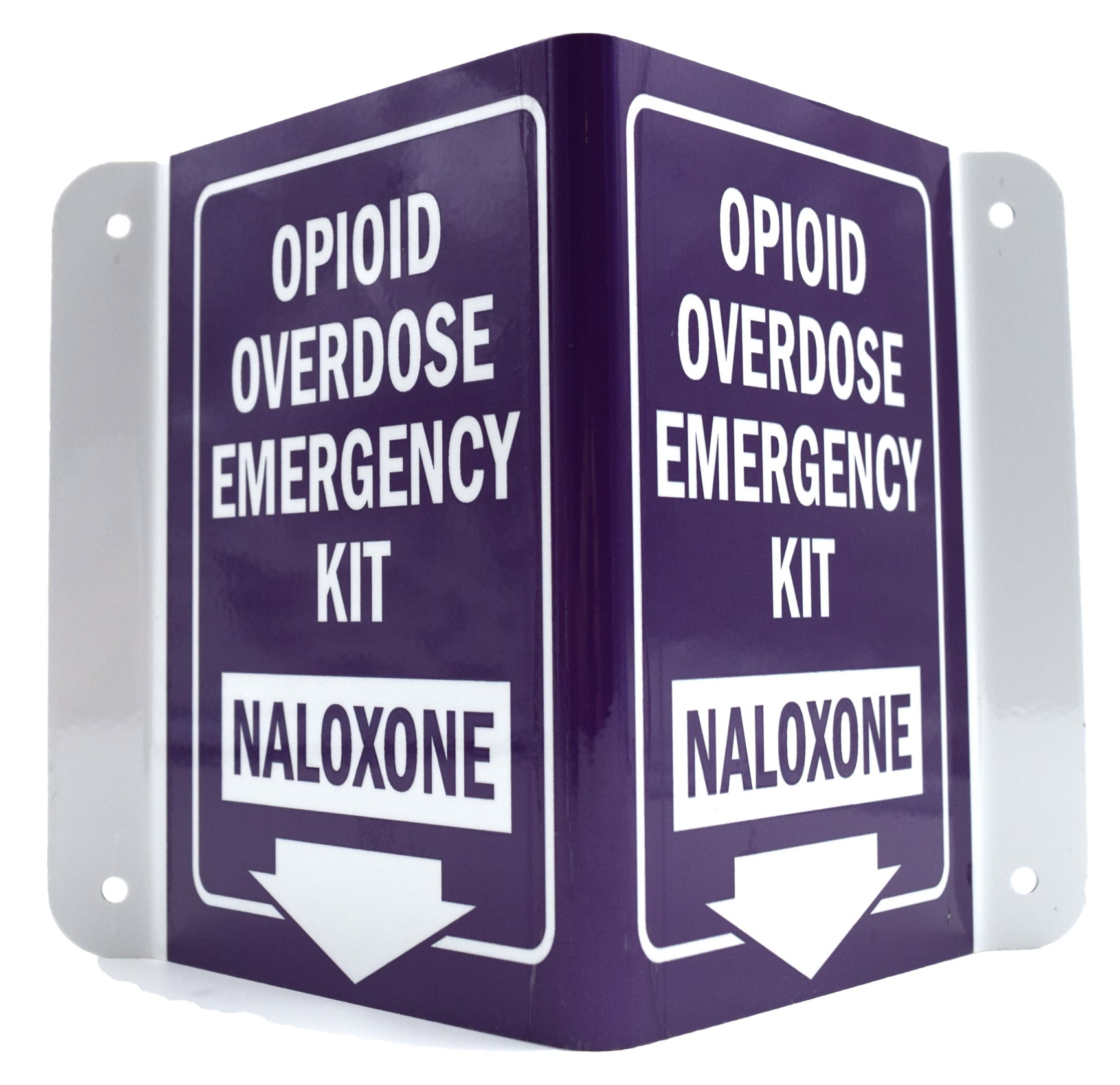 Naloxone Narcan Overdose Kit Sign