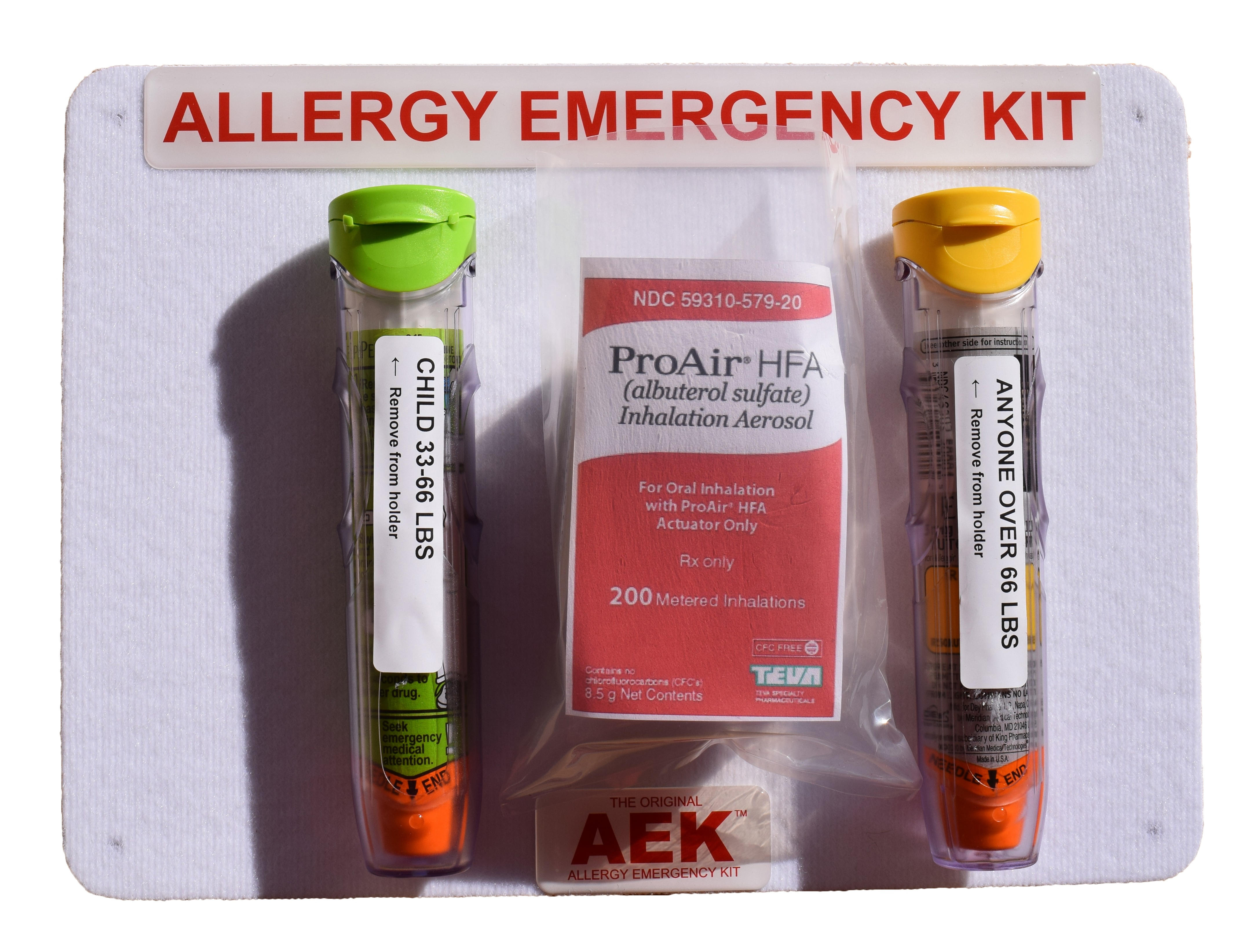 Home & Classroom Original Allergy Emergency Kit™