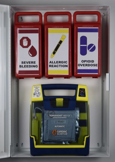 Modular Lifesaving Supply Cabinet