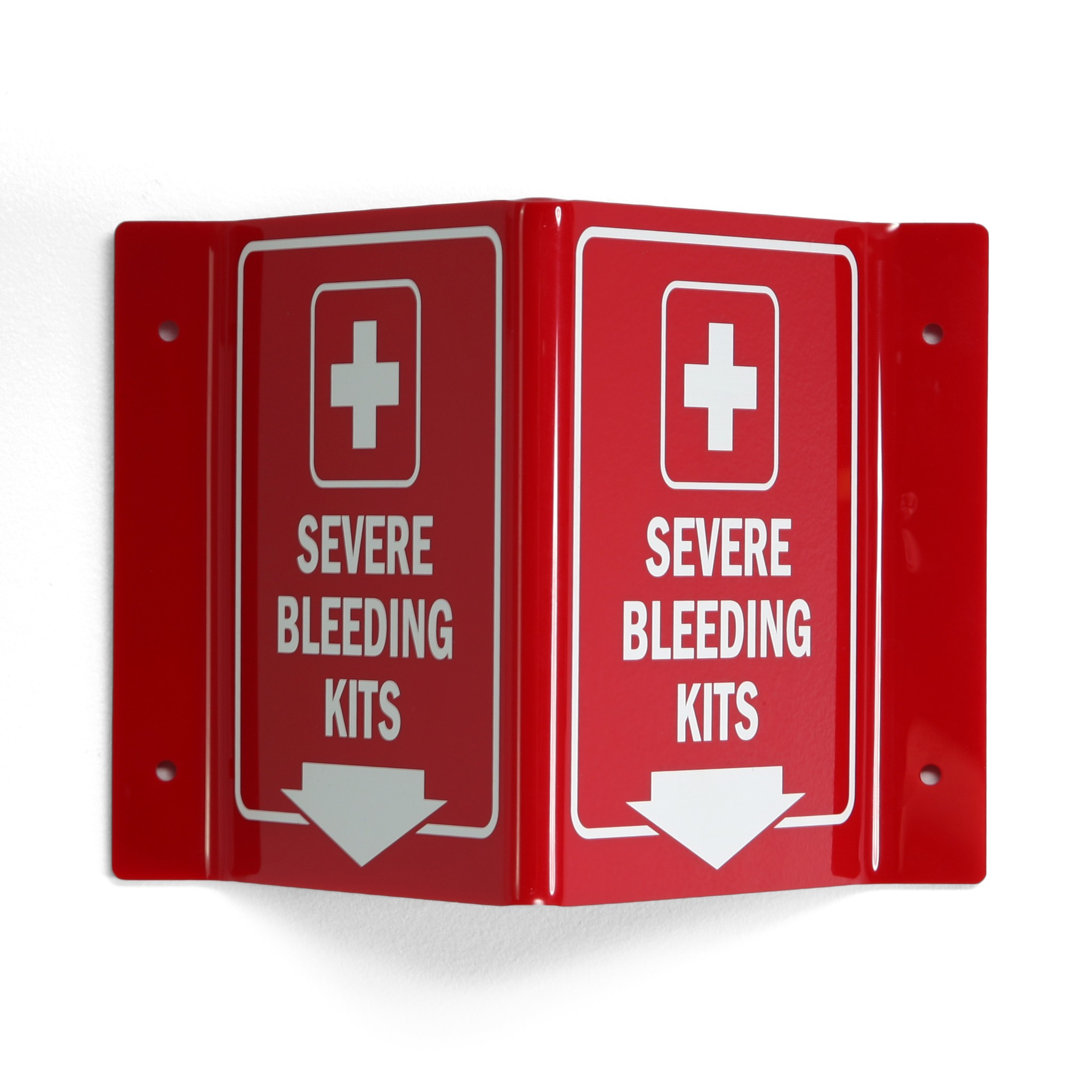 Severe Bleeding Kits Sign