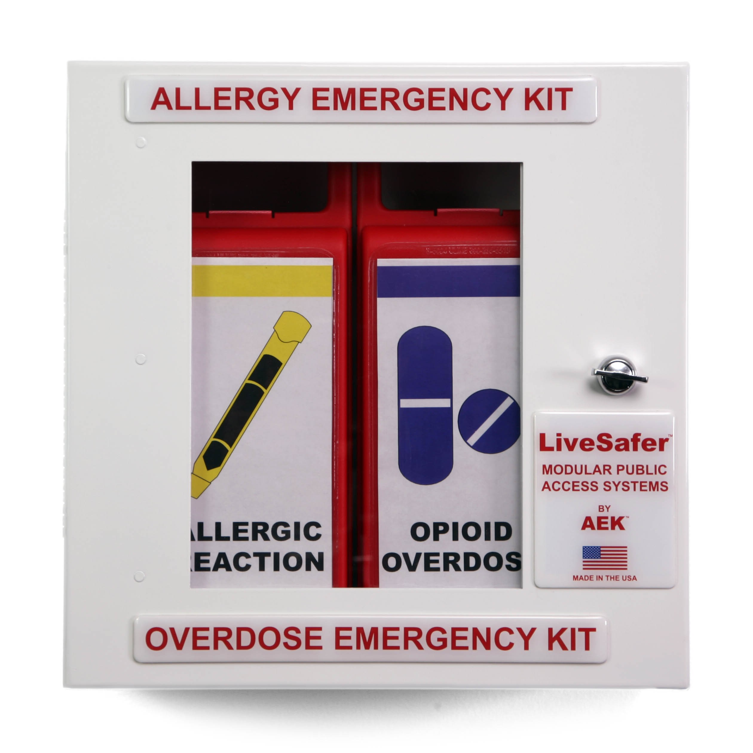 Allergy / Overdose Emergency Kit (Combined)