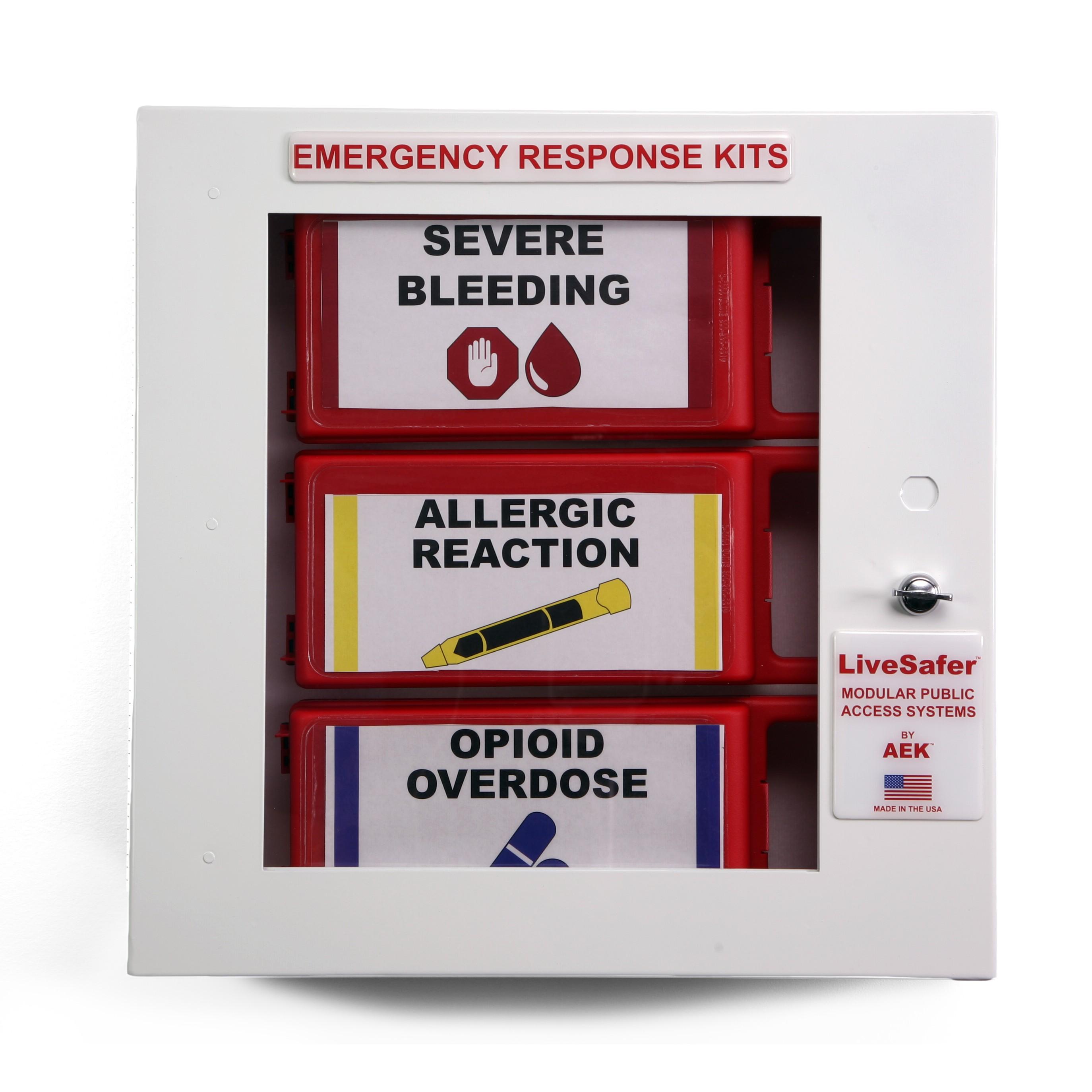 LiveSafer Modular Public Access First Aid System