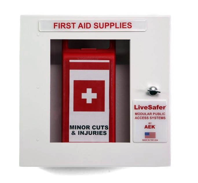 First Aid Kit Cabinet (holds up to 2 inner cases)