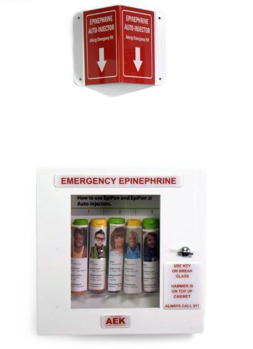 8 Unit Epinephrine Cabinet