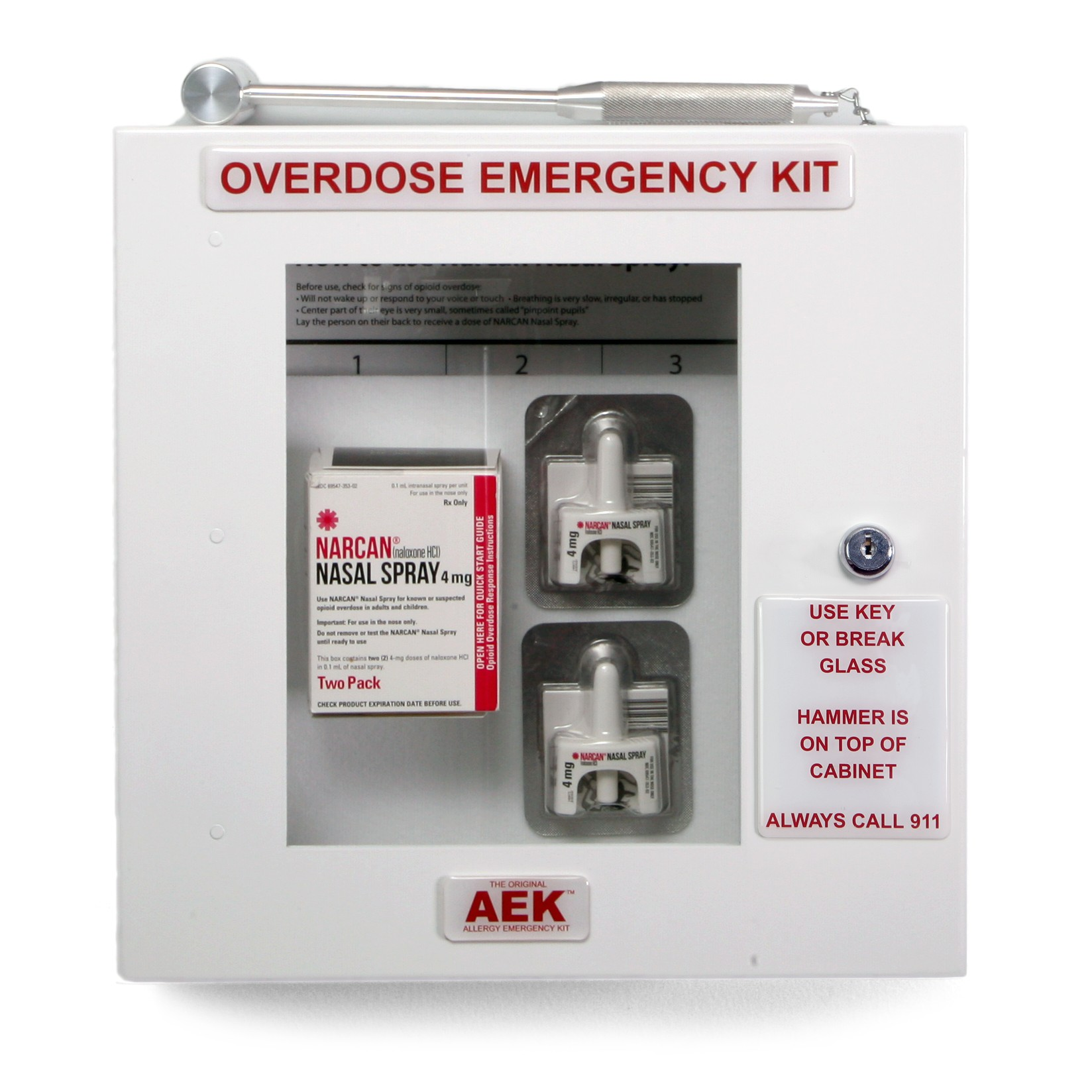 Naloxone / Narcan Opioid Overdose Emergency Kit