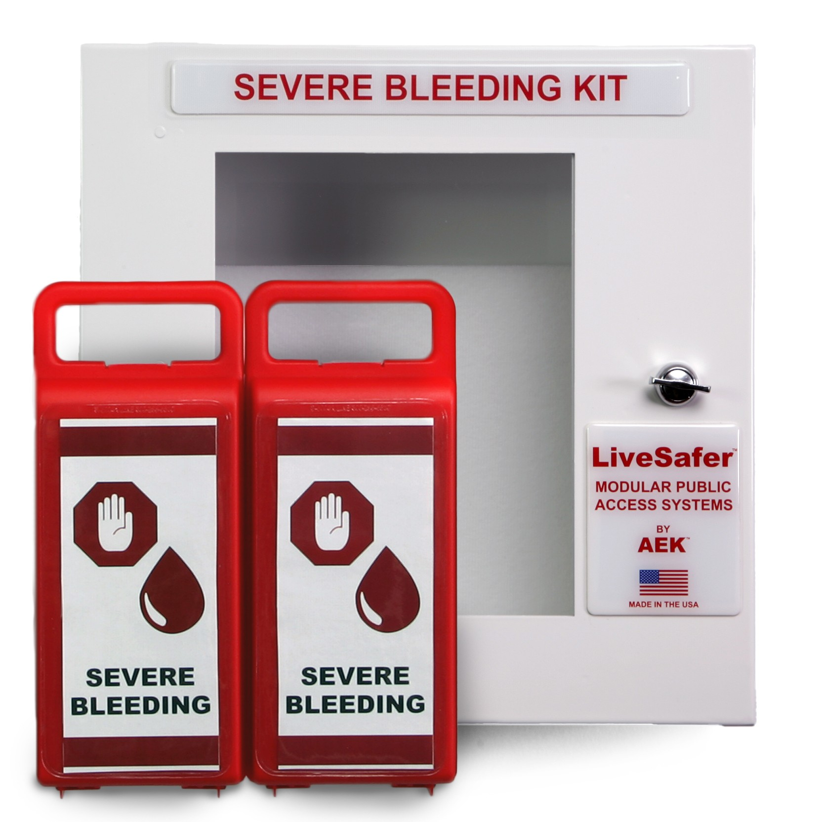 Severe Bleeding Control Kits - Empty