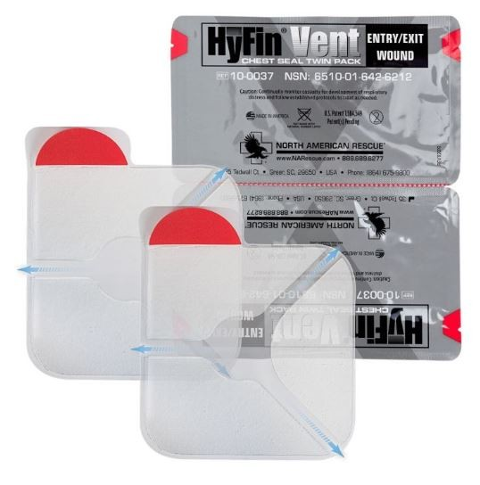 Hy-Fin Chest Seals - Twin Pack